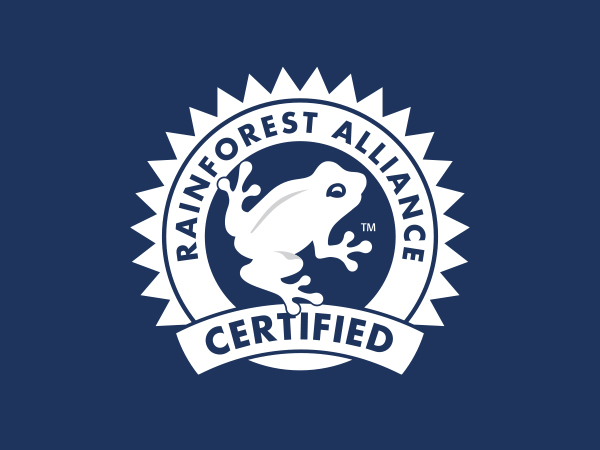 Our Coffee is Rainforest Alliance Certified