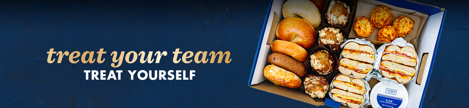 Treat your team, treat yourself - get an Amazon gift card when you order Noah's catering