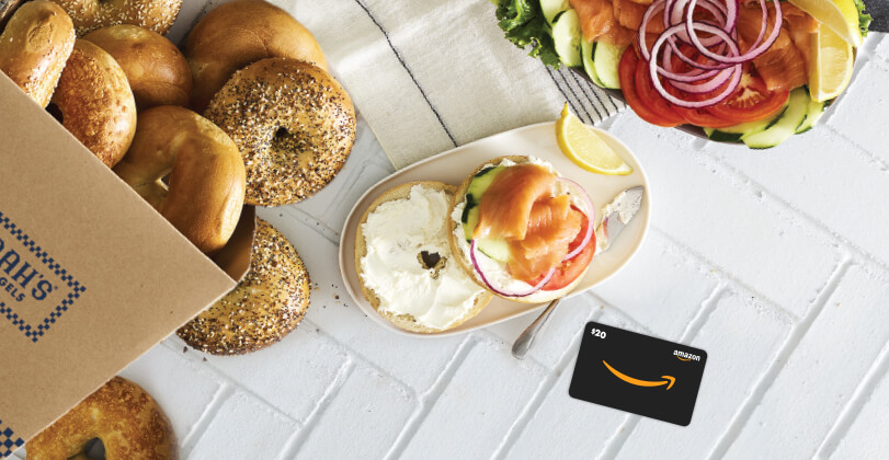 Amazon catering offer home page